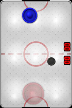 iPhone hra Touch Hockey